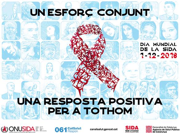 1 de desembre. Dia Mundial de la Sida